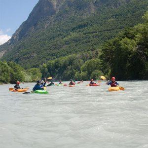 Base Technique Course of Kayak