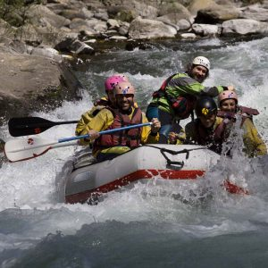 Rafting sul Lima