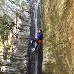 Canyoning Rio Silvano