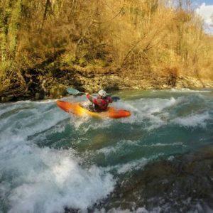 Technique of River Kayak Course