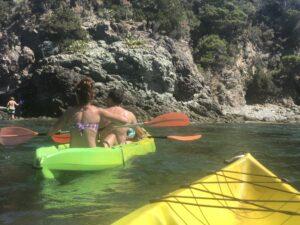 Kayak Tour Calafuria